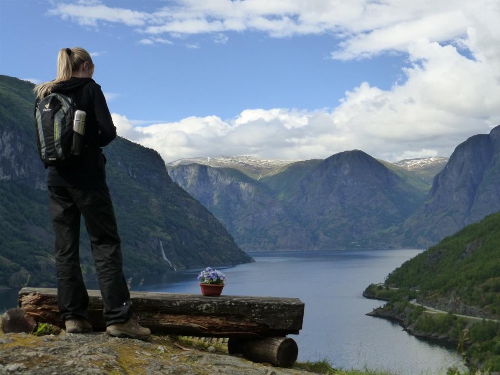 Ueber mich: Anblick - Weitblick - Ausblick auf Berge, Wasser und Himmel