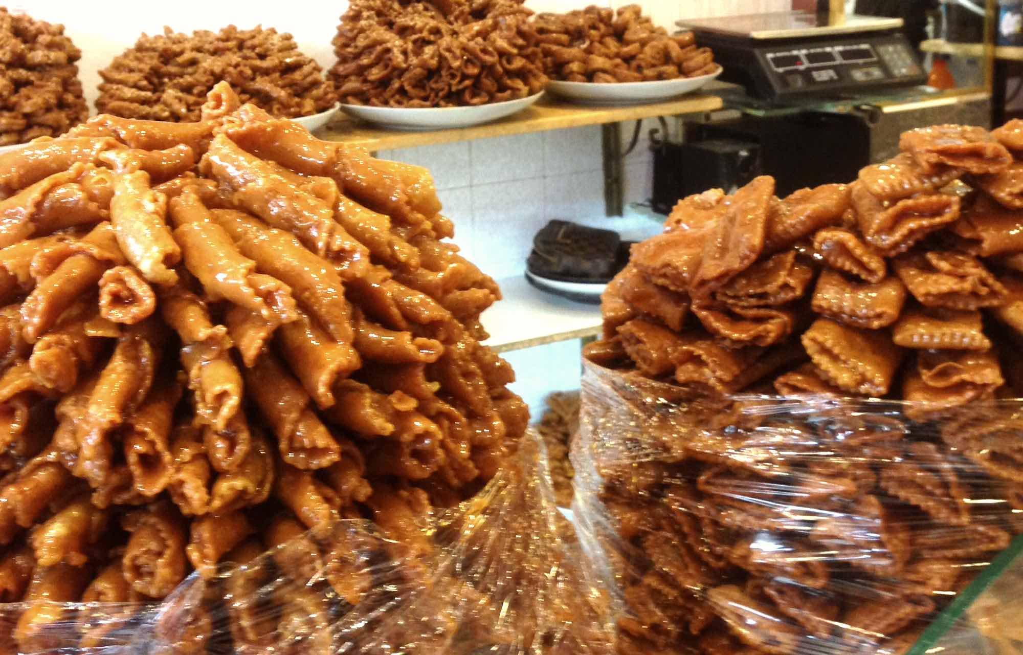 Marrokanische Süßigkeiten